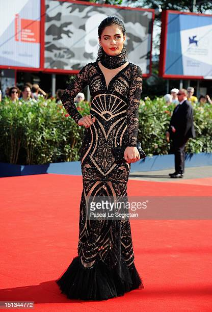 Actress Lovi Poe attends the Thy Womb Premiere at the 69th Venice Film Festival at the Palazzo del Cinema on September 6 2012 in Venice Italy