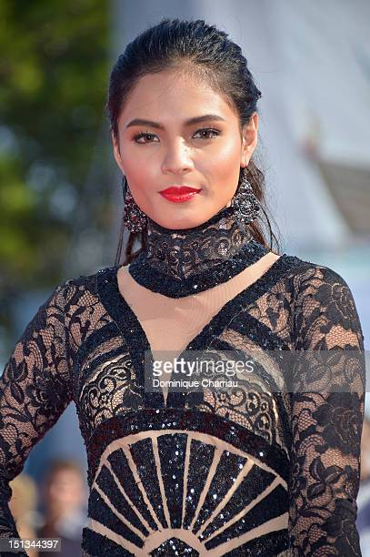 Actress Lovi Poe attends Thy Womb Premiere during The 69th Venice Film Festival at the Palazzo del Cinema on September 6 2012 in Venice Italy