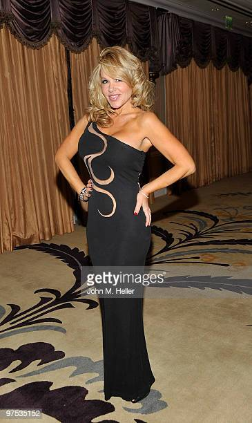 Actress LuAnn Lee attends the 20th Annual Night of 100 Stars Oscar Gala in the Crystal Ballroom at the Beverly Hills Hotel on March 7, 2010 in...