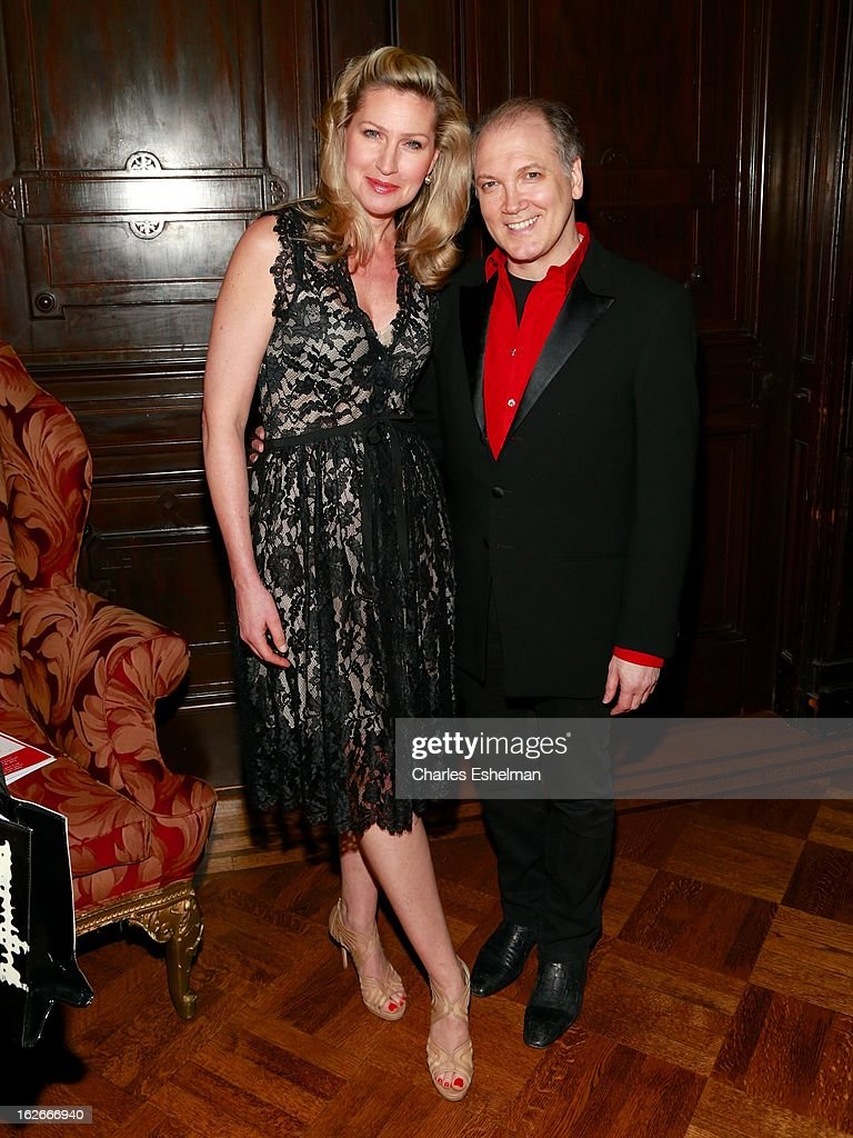 Actress Luba Mason and playwright/actor Charles Busch attend the 10th Annual Love 'N' Courage Benefit For TNC's Emerging Playwrights Program at The National Arts Club on February 25, 2013 in New York City.