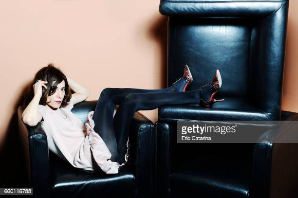 Actress Lubna Azabal is photographed for Self Assignment on February 17 2011 in Berlin Germany