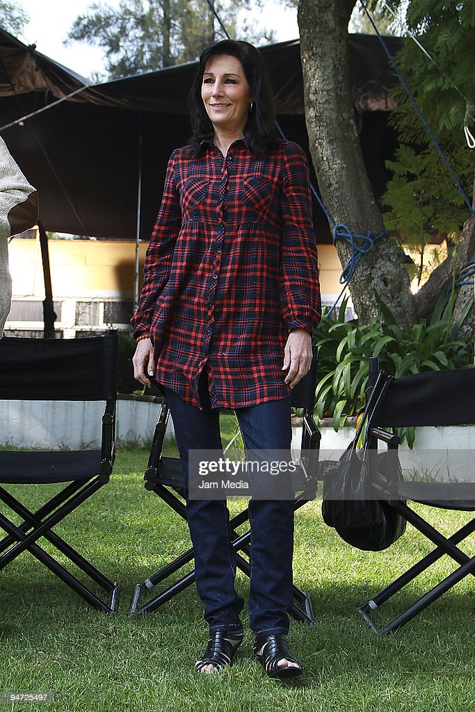 Actress Lucero Lander poses during the making of the movie Los Inadaptados at Colonia Las Aguilas on December 17, 2009 in Mexico City, Mexico.