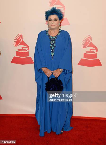 Actress Lucia Bosè arrives at the 2013 Latin Recording Academy Person Of The Year honoring Miguel Bose at the Mandalay Bay Convention Center on...
