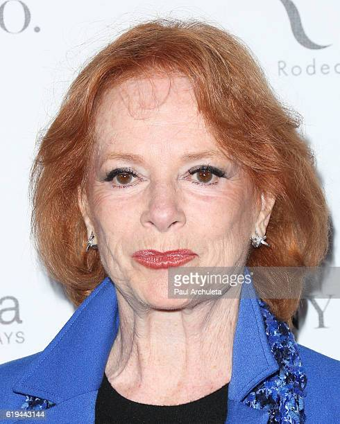 Actress Luciana Paluzzi attends Amanda Foundation's annual Rodeo Drive fundraiser at Via Rodeo at Two Rodeo Drive on October 30, 2016 in Beverly...