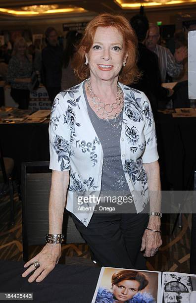 Actress Luciana Paluzzi attends The Hollywood Show held at The Westin Los Angeles Airport Hotel on Saturday October 5 2013 in Los Angeles California