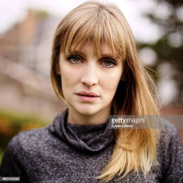 Actress Lucie Debay is photographed for Self Assignment on October 2 2017 in Namur France