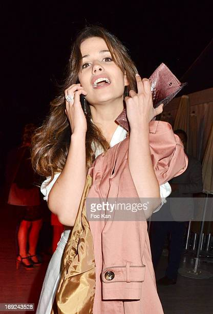 Actress Lucie Lucas attends the We Are What We Are Cocktail during the Terrazza Martini at The 66th Annual Cannes Film Festival on May 21 2013 in...