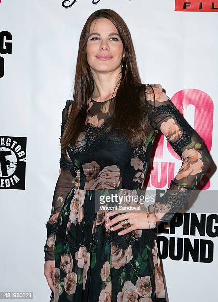 Actress Lucila Sola attends the Los Angeles Premiere of 10 Rules For Sleeping Around at the Egyptian Theatre on April 1 2014 in Hollywood California