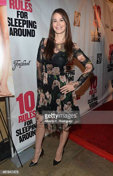 Actress Lucila Sola attends the premiere of Screen Media Films' '10 Rules For Sleeping Around' at the Egyptian Theatre on April 1 2014 in Hollywood...