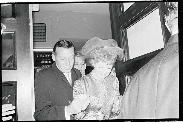 Lucille Ball And Gary Morton On Their Wedding Day