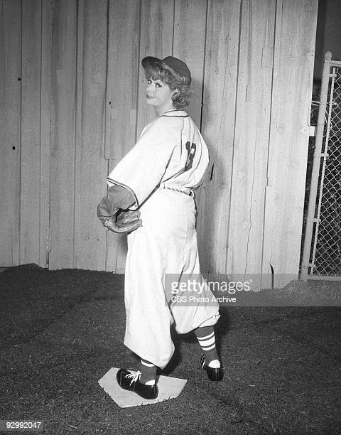 Actress Lucille Ball as Lucy Carmichael in �Lucy and Vivi Play Softball� May 9 1963