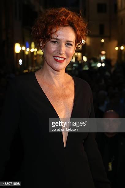 Actress Lucrezia Lante della Rovere attends the Celebrity Fight Night gala at Palazzo Vecchio during 2015 Celebrity Fight Night Italy benefiting the...