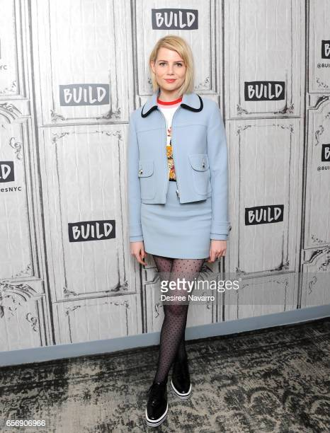 Actress Lucy Boynton attends Build Series to discuss 'The Blackcoat's Daughter' at Build Studio on March 23 2017 in New York City