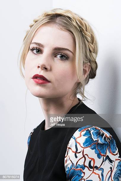 Actress Lucy Boynton of 'Sing Street' poses for a portrait at the 2016 Sundance Film Festival on January 25 2016 in Park City Utah