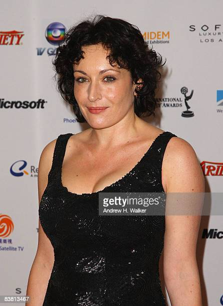 Actress Lucy Cohu attends the 36th annual International Emmy Awards recognizing excellence in television programming produced outside of the United...