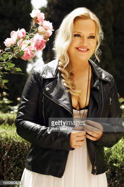 Actress Lucy Davis is photographed on April 24, 2017 in Los Angeles, California.