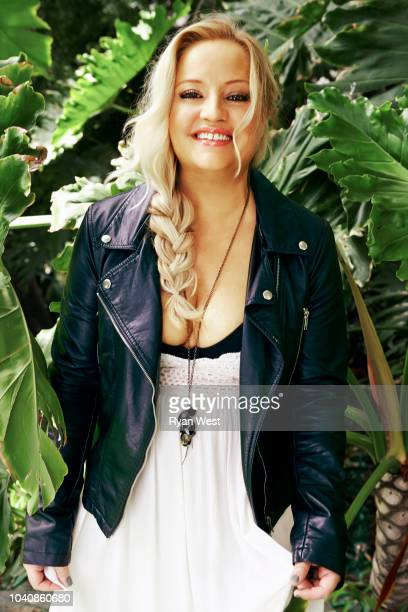 Actress Lucy Davis is photographed on April 24 2017 in Los Angeles California