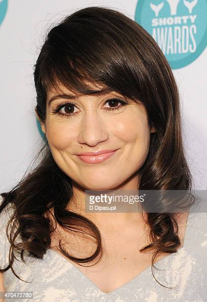 Actress Lucy DeVito attends The 7th Annual Shorty Awards on April 20 2015 in New York City