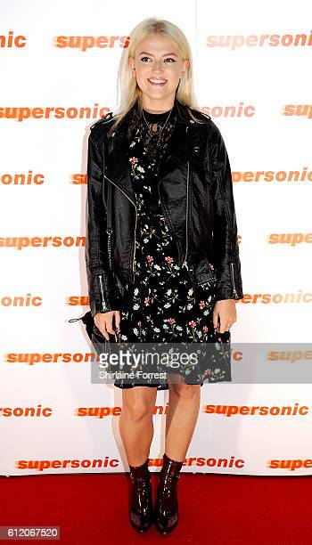 Actress Lucy Fallon arrives for the special screening of Oasis documentary 'Supersonic' at Odeon The Printworks on October 2 2016 in Manchester...