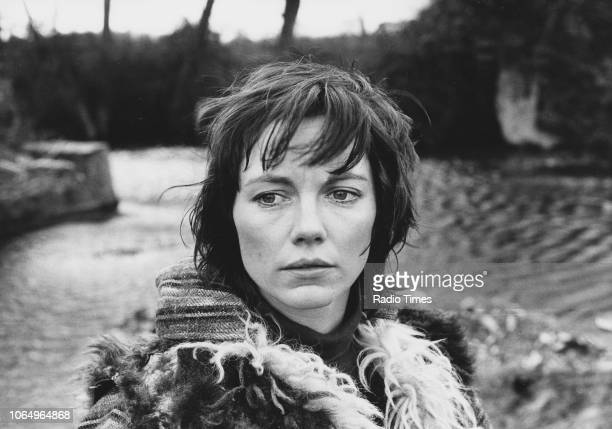 Actress Lucy Fleming in a scene from episode 'Manhunt' of the television series 'Survivors' February 19th 1977