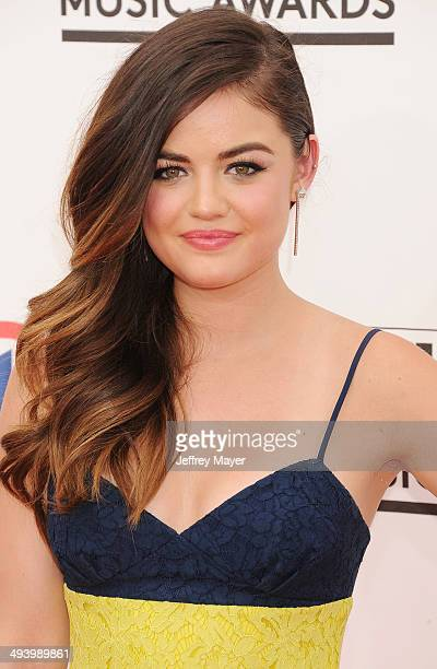 Actress Lucy Hale arrives at the 2014 Billboard Music Awards at the MGM Grand Garden Arena on May 18 2014 in Las Vegas Nevada
