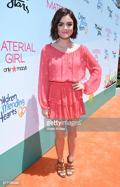 Actress Lucy Hale attends Children Mending Hearts 7th Annual Fundraiser Presented By Material Girl And Michael Stars on June 14 2015 in Malibu...
