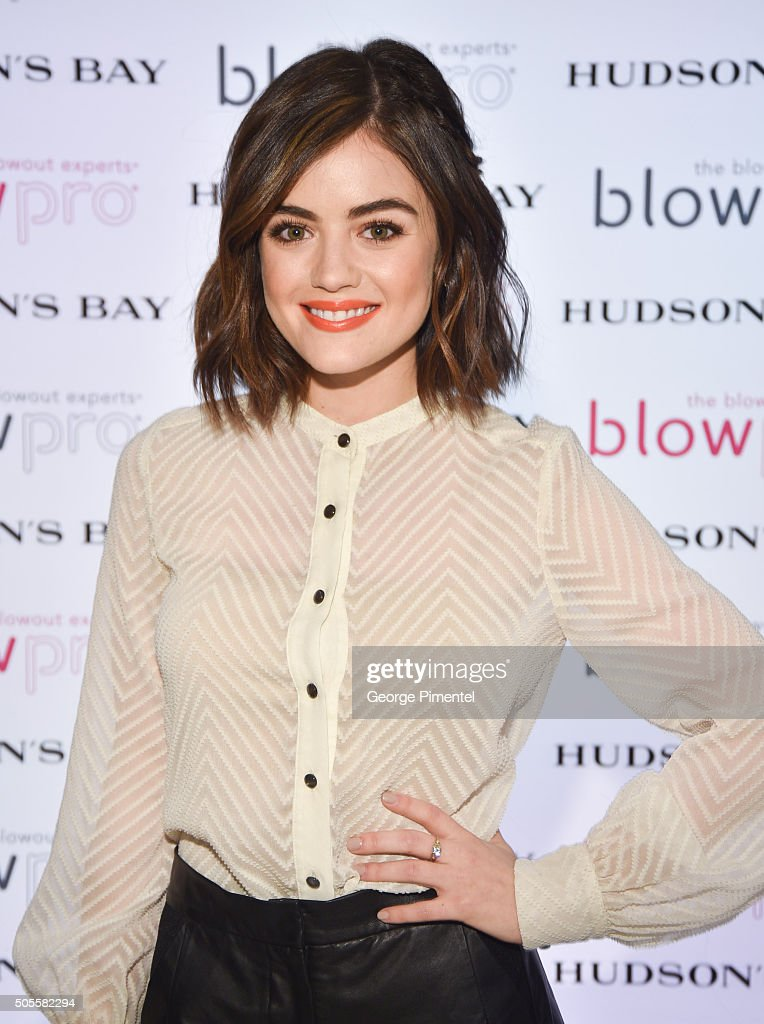 Hudson's Bay Welcomes Lucy Hale For BlowPro