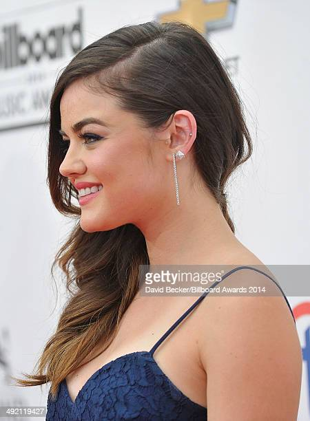 Actress Lucy Hale attends the 2014 Billboard Music Awards at the MGM Grand Garden Arena on May 18 2014 in Las Vegas Nevada