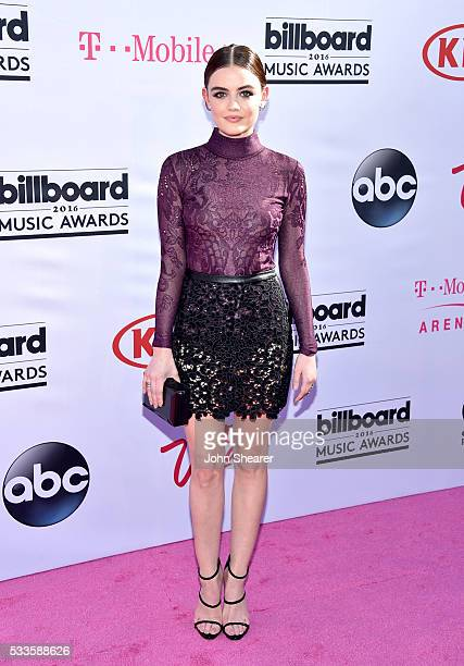 Actress Lucy Hale attends the 2016 Billboard Music Awards at TMobile Arena on May 22 2016 in Las Vegas Nevada