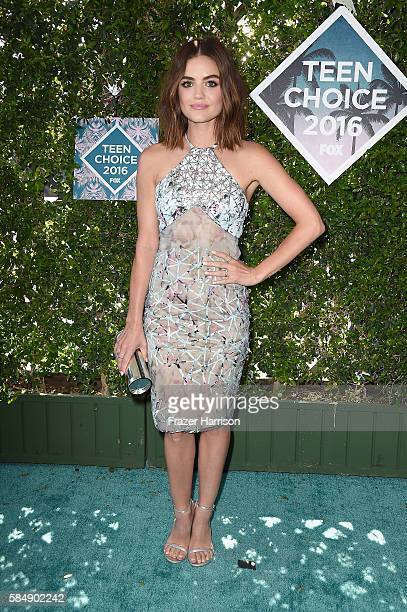 Actress Lucy Hale attends the Teen Choice Awards 2016 at The Forum on July 31 2016 in Inglewood California