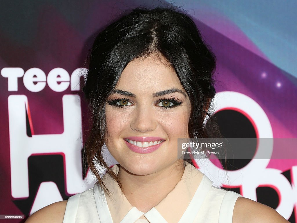 Actress Lucy Hale attends the TeenNick HALO Awards at The Hollywood Palladium on November 17, 2012 in Los Angeles, California.