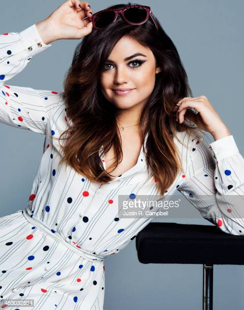 Actress Lucy Hale is photographed for Just Jared on May 14 2014 in Los Angeles California PUBLISHED ONLINE