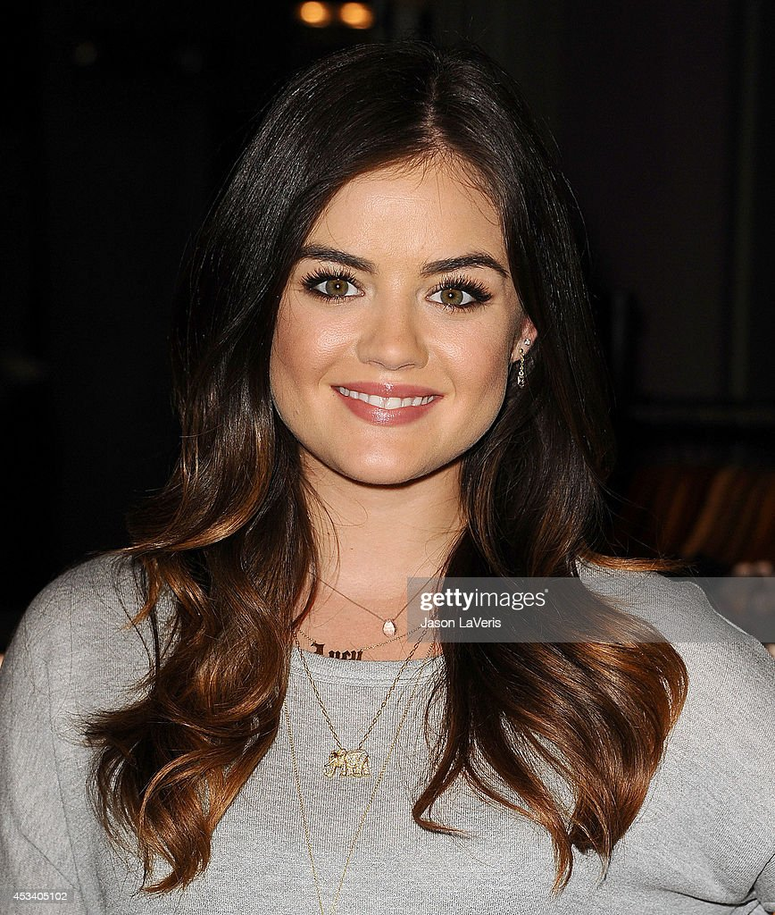 Lucy Hale Launches Her First Collection At Hollister Store