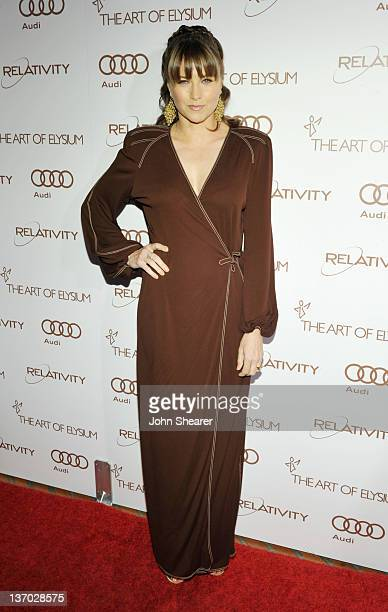 Actress Lucy Lawless arrives at Audi presents The Art of Elysium's 5th annual HEAVEN at Union Station on January 14, 2012 in Los Angeles, California.