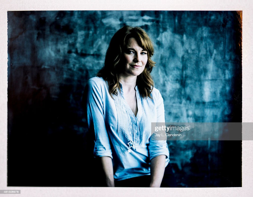 Actress Lucy Lawless of 'Ash vs Evil Dead' is photographed on polaroid film at Comic-Con International 2015 for Los Angeles Times on July 9, 2015 in San Diego, California. PUBLISHED IMAGE.