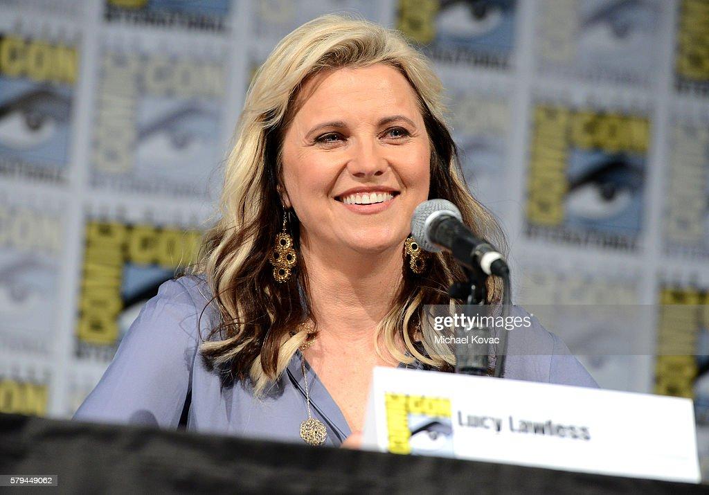 """""""Ash vs Evil Dead"""" San Diego Comic-Con Panel : News Photo"""