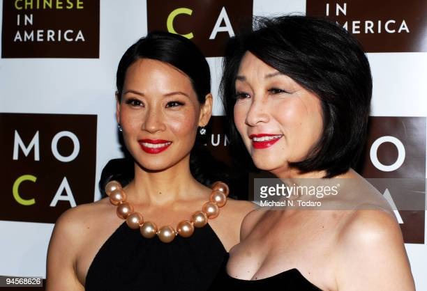 Actress Lucy Liu and journalist Connie Chung attend the Museum of Chinese in America 30th Anniversary Gala at Capitale on December 16 2009 in New...