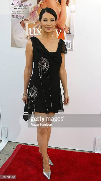 Actress Lucy Liu arrives at the AMC and Movieline's Hollywood Life Magazine presents the Young Hollywood Awards held at the El Ray Theatre Los...