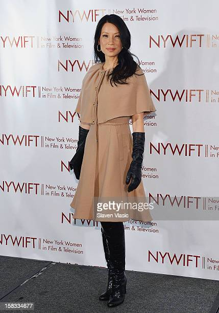 Actress Lucy Liu attends 2012 New York Women In Film And Television Muse Awards at New York Hilton – Grand Ballroom on December 13 2012 in New York...