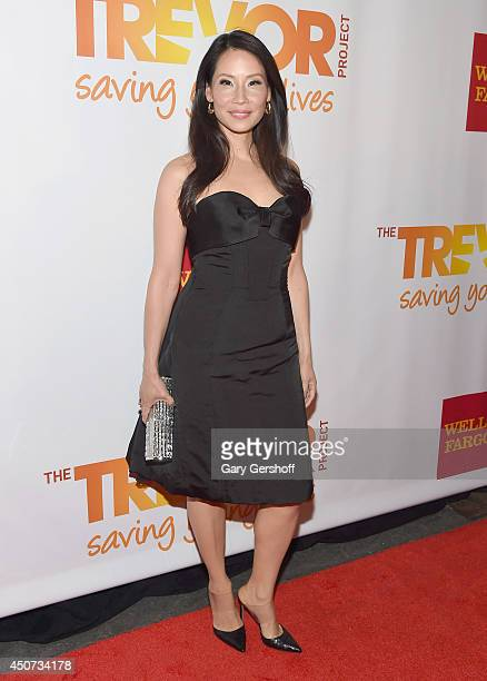 Actress Lucy Liu attends 2014 'TrevorLIVE NY' Benefit at Marriott Marquis Hotel on June 16 2014 in New York City