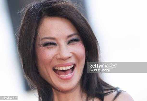 Actress Lucy Liu attends her Walk of Fame ceremony in Hollywood on May 1, 2019. - Lucy Liu's star is the 2,662nd star on the Hollywood Walk Of Fame...