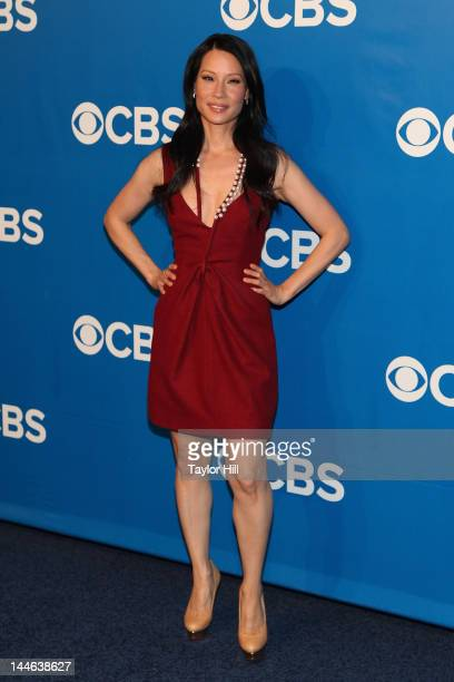 Actress Lucy Liu attends the 2012 CBS Upfronts at The Tent at Lincoln Center on May 16 2012 in New York City