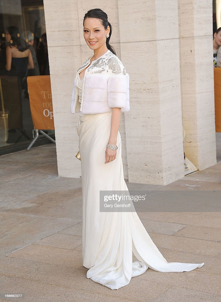 Actress Lucy Liu attends the 2013 American Ballet Theatre Opening Night Spring Gala at Lincoln Center on May 13, 2013 in New York City.