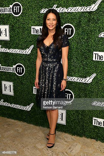 Actress Lucy Liu attends the 2014 Couture Council Award Luncheon Benefit for the Museum at FIT honoring Carolina Herrera at the David H Koch Theater...