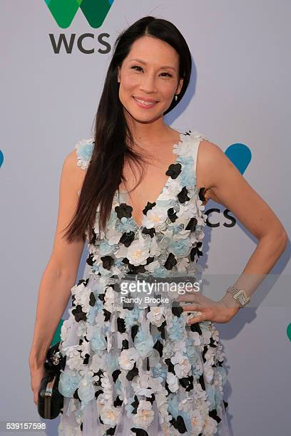 Actress Lucy Liu attends the 2016 Wildlife Conservation Society Gala at Central Park Zoo on June 9 2016 in New York City