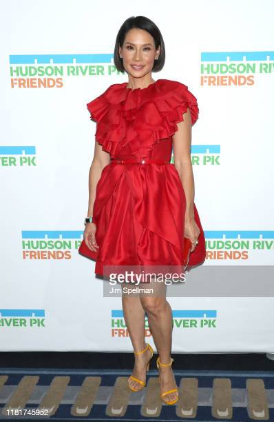 Actress Lucy Liu attends the 2019 Hudson River Park Gala at Cipriani South Street on October 17 2019 in New York City