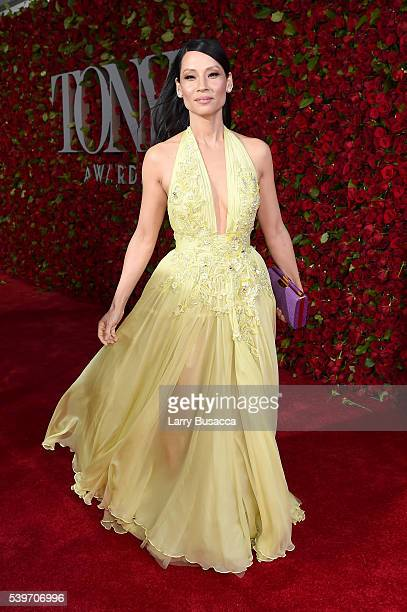 Actress Lucy Liu attends the 70th Annual Tony Awards at The Beacon Theatre on June 12, 2016 in New York City.