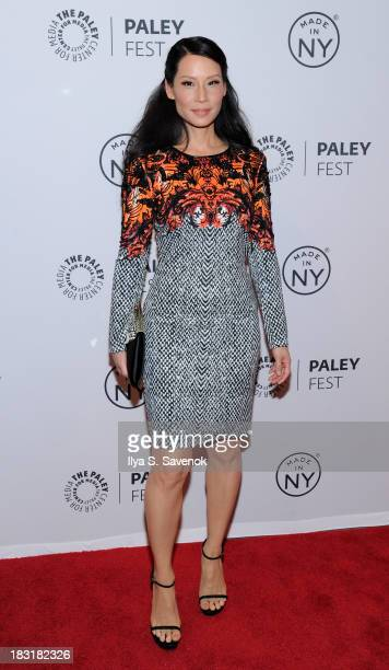 Actress Lucy Liu attends the Elementary panel during 2013 PaleyFest Made In New York at The Paley Center for Media on October 5 2013 in New York City