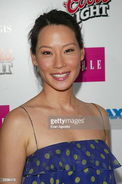 Actress Lucy Liu attends the Miramax PreOscar 'Max Awards' party at the St Regis Hotel in Century City March 22 2003 in Los Angeles