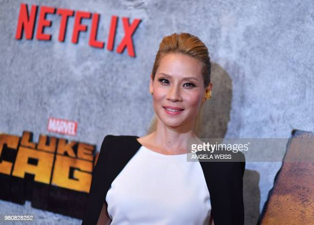 US actress Lucy Liu attends the Netflix Original Series Marvel's Luke Cage Season 2 New York City Premiere on June 21 2018 in New York City